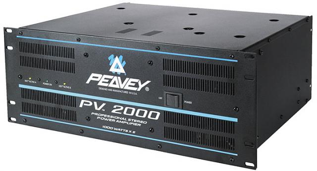 peavey pv 2000 amplifier review monster of crown amps gear vault. Black Bedroom Furniture Sets. Home Design Ideas