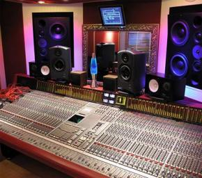 Recording studio Mackie Event Hafler monitors
