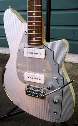 Reverend Slingshot, Spy and Commando Guitars