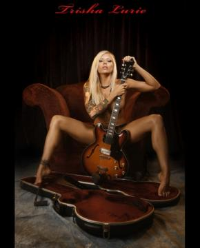 Trisha Lurie Les Paul Guitar Girl