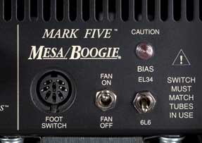 Mesa Boogie Mark V bias