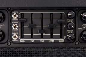 Mesa Boogie Mark V equalizer