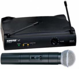Samson, Shure and Telex UHF Wireless Microphone Systems