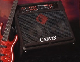 Carvin R600 Redline Series Bass Amplifier