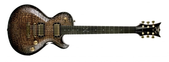 DBZ Croc Skin Bolero Guitar Press on Harmony-Central.com