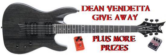 Dean Vendetta Guitar Giveaway – Guitar Pedals & More!