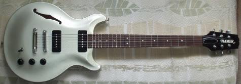 Hamer Artist Vanguard Electric Guitar Review