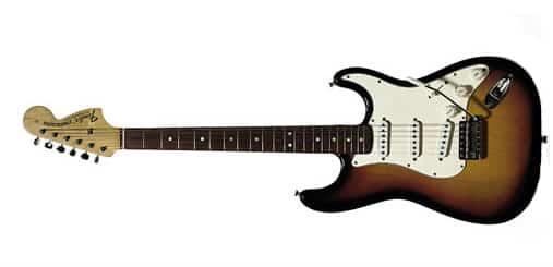 Jimi Hendrix Fender Strat Guitar