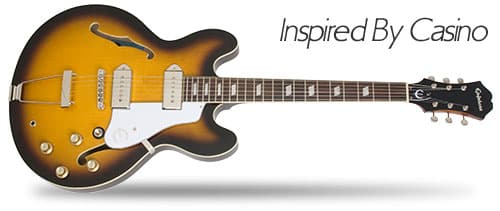 Inspired by Casino Epiphone