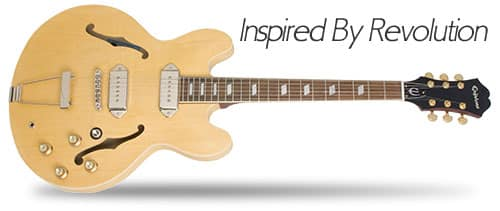 Inspired by Revolution Epiphone