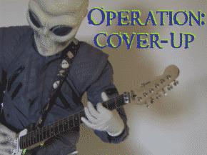 Alien Guitar Player