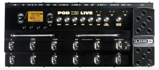 Line 6 Pod X3 Live Guitar Multi Effects Pedal