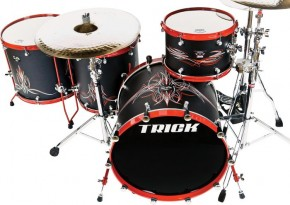 Trick Drum Orange County Choppers Drum Kit