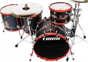 Trick Drum Orange County Choppers Drum Kit