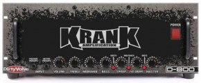 First Krank Bass Amp - The Dirty Valve D-800