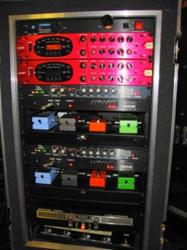 Paul Phillips G-12 GTR Rack Line 6 POD XT PRO boss