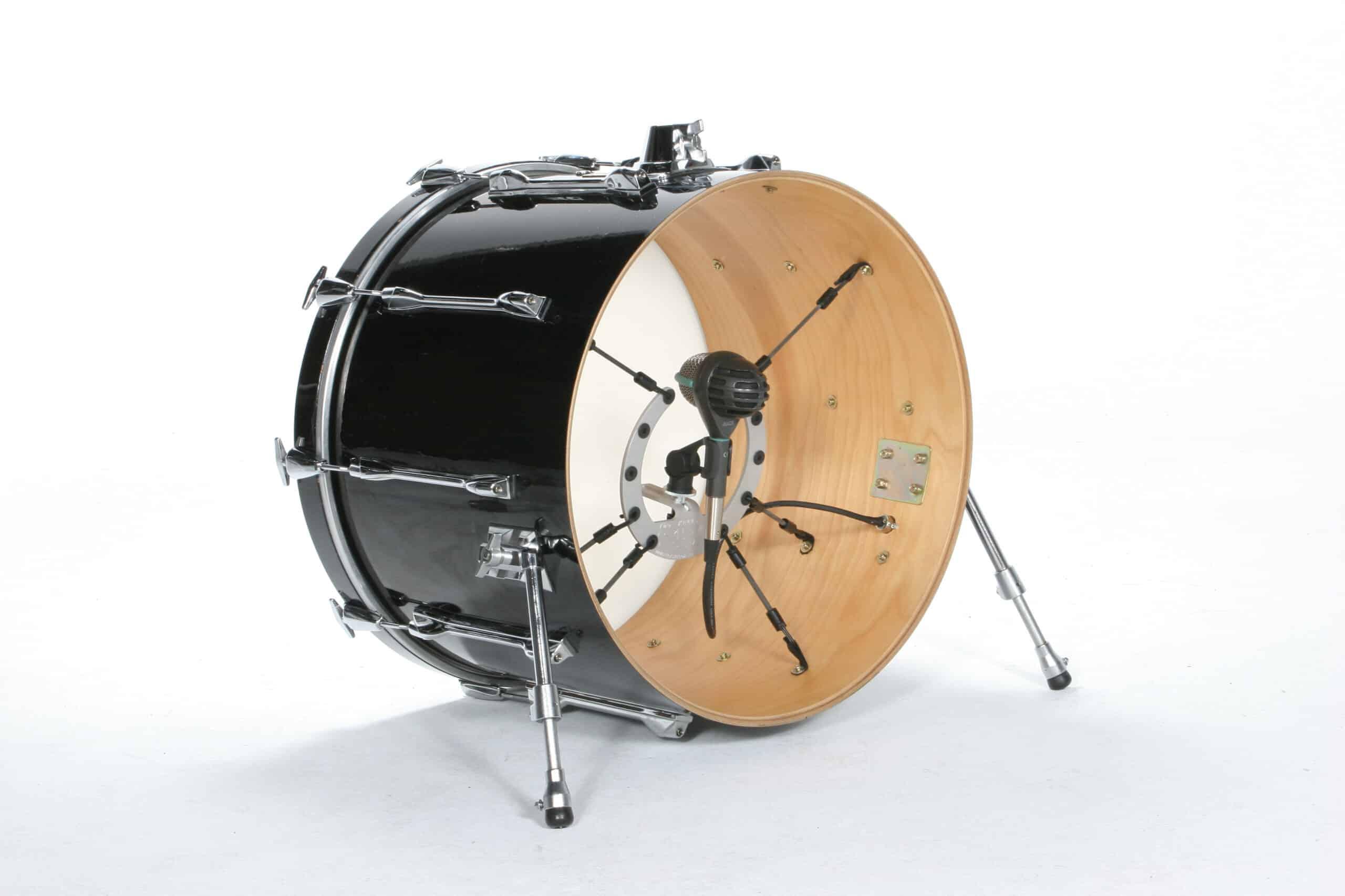 kelly shu kick drum microphone shock mount gear vault. Black Bedroom Furniture Sets. Home Design Ideas