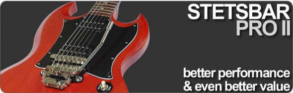 Stetsbar Professional Guitar Tremolo Systems