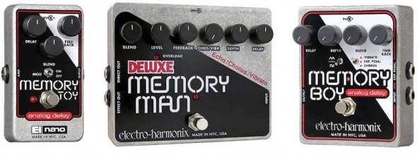 Electro-Harmonix Memory Boy Toy Analog Delay Guitar Pedals