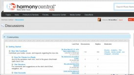 HarmonyCentral Forum 2.0 a Failure?