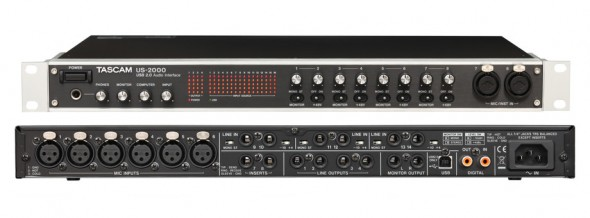 TASCAM US-1641 and US-2000 Hands-On Review