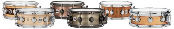 DW Expand Snare Drum Line with New Snares and Throw-Off System