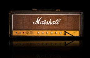 Marshall jcm 800 guitar amplifier