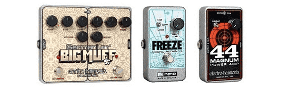 EHX Germanium Big Muff, Freeze Sound Retainer, 44 Magnum Review