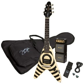 Epiphone Flying VeeWee Bullseye Zakk Pakk Electric Guitar Value Pack