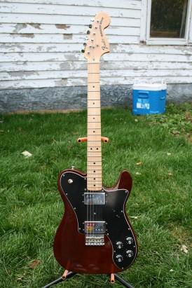 Fender 1972 Telecaster Deluxe Guitar