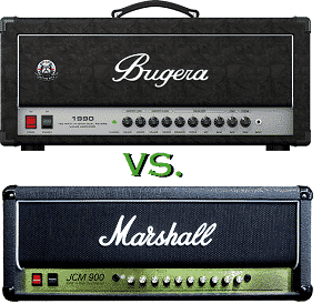 Marshall JCM900 vs Bugera 1990