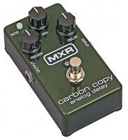 MXR Carbon Copy Analog Delay Stompbox Review