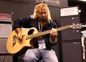 Playing Electric-Acoustic Bass Guitar