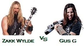 Gus G vs Zakk Wylde