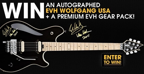 Win an EVH Wolfgang USA Electric Guitar