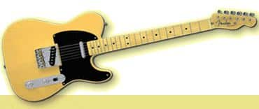 News: Fender Telecaster stolen from a Casket
